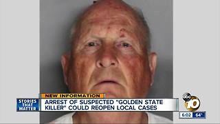 Arrest in Golden State Killer case - Video