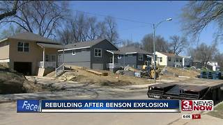 Houses rebuilt after Benson explosion - Video