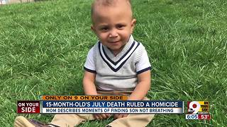 Toddler's July death ruled a homicide - Video