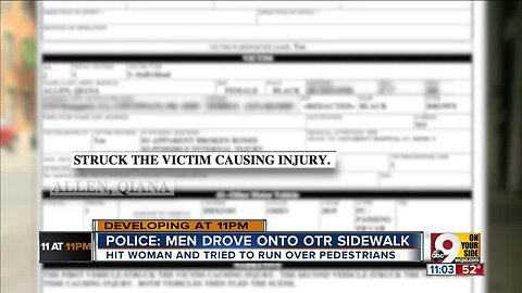 Police search for drivers who ran over OTR pedestrian