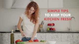 Tips to keep your kitchen clean - Video