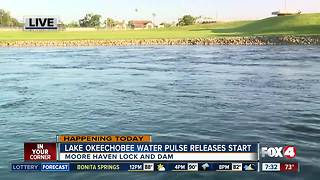 Army Corps starts Lake O water releases - Video