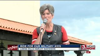 Senator Joni Ernst Rides for Military Kids - Video