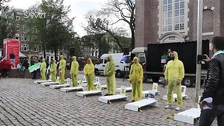 Syrians in Amsterdam Mark Four Years Since Ghouta Chemical Attack