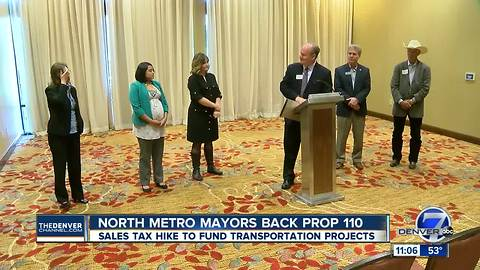 More mayors to announce support for Colorado's Proposition 110