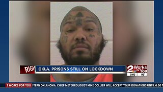 Oklahoma prisons locked down pending investigation