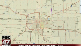 Thousands of Consumers Energy customers without power - Video