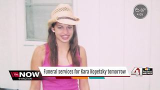 Funeral services for Kara Kopetsky to be held on Saturday - Video