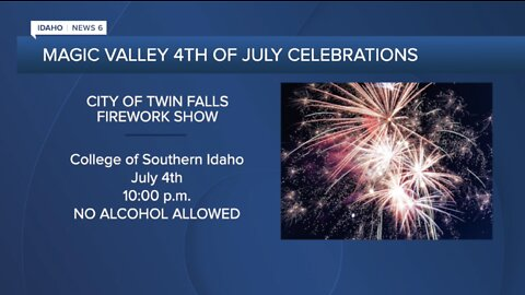4th of July events happening in the Magic Valley
