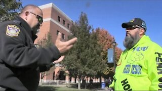 "Police Threatens to Arrest Preacher for ""Offending People"" - West Conn State 