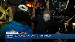 Kenmore haunted house raises money for lung cancer research