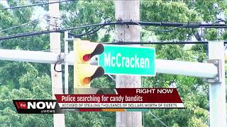 Candy bandits steal thousands of dollars worth of sweets in Garfield Heights - Video