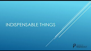 Indispensable Things