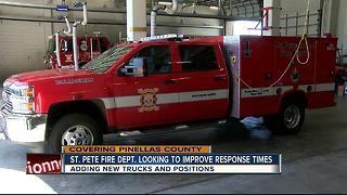 St. Pete Fire Dept. looking to improve response time - Video