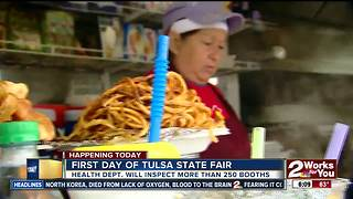 More than 250 food booths to be inspected at Tulsa State Fair - Video