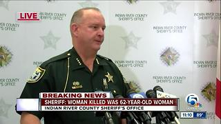 Woman, 62, armed with butcher knife fatally shot by Indian River County deputy - Video
