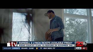 Cole Swindell and Dustin Lynch coming to Bakersfield