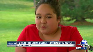 Authorities looking for suspect after 14-year-old girl hit by stray bullet - Video