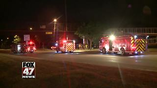 Lansing accident under investigation - Video