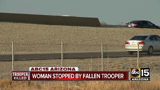 Valley woman remembers encounter with fallen DPS Trooper - Video