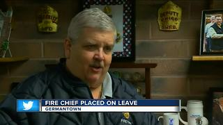 Germantown fire chief placed on leave over 'confidential HR issue' - Video