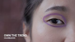 Winter make-up trends: Block colors - Video