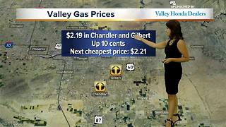 Gas prices soar in Arizona - Video