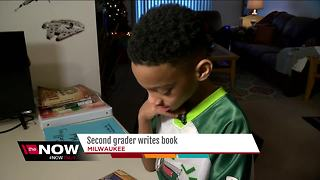 7-year old Milwaukee boy writes and publishes his very first book - Video