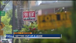 Call 4 Action: How to successfully break a lease