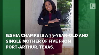 Single Mother of 5 Celebrates Graduation from Law School with Inspiring Photo - Video