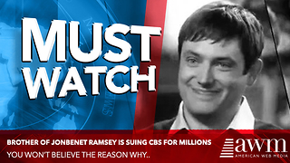 Jonbenet Ramsey's Brother Is Suing CBS Television For 750 Million Dollars - Video