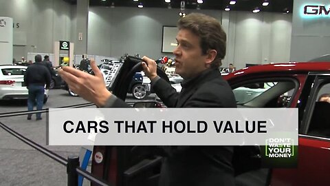 Cars that hold their value longest