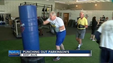 Rock Steady Boxing aims to knock out Parkinson's disease