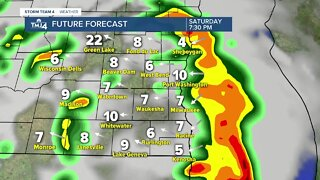 Warm, humid weekend ahead with a chance of storms