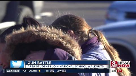 Students reflect on school shootings, safer school messages