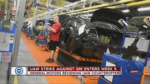 UAW labor cost per GM vehicle is 5%, so why is the strike in day 29?