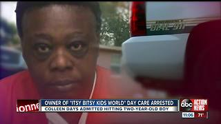 Pinellas County daycare owner arrested for child abuse after 2-year-old is found with bruises - Video