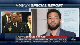 Jussie Smollett case briefing from Chicago police