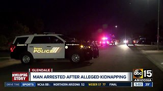 Man arrested after alleged kidnapping