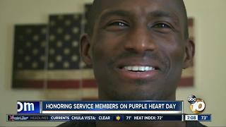 Honoring service members on Purple Heart Day - Video