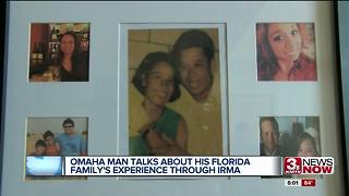 Florida native's family survives Irma - Video