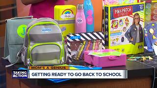 Mom's A Genius: Getting ready to go back to school - Video