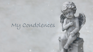 My Condolences Greeting Card 1 - Video