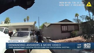 Family of James Garcia demanding more answers after officer shooting