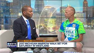 2017 Michigan Marrow Walk set for Saturday, August 19 - Video