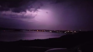Lightning Storms Rage Over Southwest England For Four Hours - Video