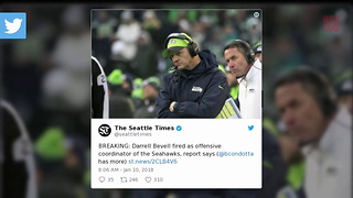Seahawks Reportedly Cut Ties With Offensive Coordinator