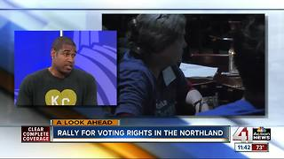 Rally for voting rights in the Northland