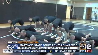 Test your skills with the Maryland State Police Fitness Challenge - Video