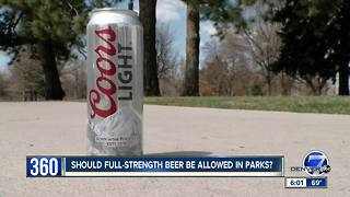 Should Denver parks allow beer with higher alcohol contents?